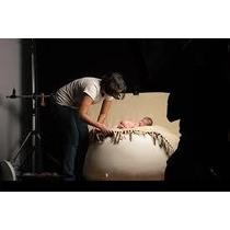 Puff Para Newborn, Para Fotos Enviado Cheio!tamanho Padrão