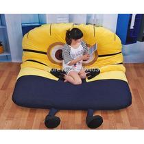 Puff Minions Para Criança Modelo 1