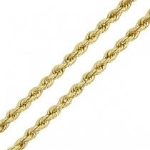 Pulseira Malha Cordão Baiano Ouro18k - Leloeane