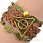 Pulseira Harry Potter - Relíquias Da Morte