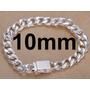Pulseira Bracelete Balada Estilo A Prata / 10mm