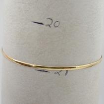 3263 Pulseirade Argola 21 Cm De Ouro 18k 750 Z