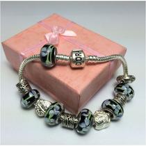 Pulseira Charms Beads Berloques Estilo Europeu