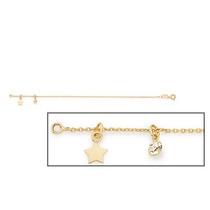 Pulseira Estrela E Cristal Rommanel Med 18/20cm 551277