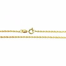 Pulseira Masculina Cordão Baiano 18.5cm Em Ouro 18k-750