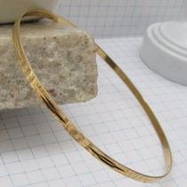5084 Pulseira De Argola 20 Cm De Ouro 18k 750 Lyz