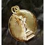 Lindo Pingente Estátua Da Liberdade Em Ouro 14k !