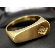 **anel Maravilhoso!! Em Ouro18k Legitimo Com Diamantes !!