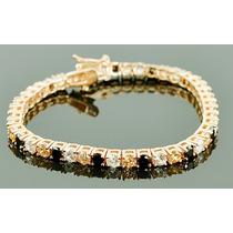 Promoção-ss86-pulseira Prata925-folheado Ouro(plated)zirconi