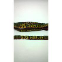 Pulseira Bordado Bob Marley - Shopfire ®