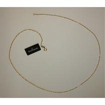 Rommanel Corrente 42cm Folheado Ouro Fio Torcido 531184