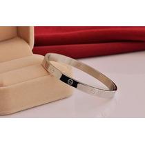 Pulseira Bracelete Love Feminino E Masculino Banho Ouro 18k