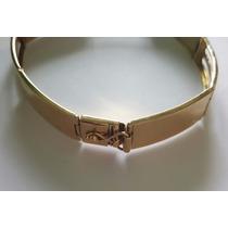 Pulseira Bracelete Ouro 18k 17,6 Gramas Frete Grátis