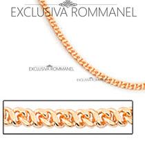 Rommanel Pulseira Fio Formato Oito 18 /19 Diamantado 550294