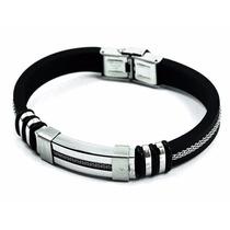 Pulseira/corrente/bracelete/algema Masculina Aço Alessio