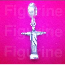 Pingente Berloque Charm Cristo Redentor Pandora Prata 925