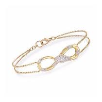 Maravilhosa Pulseira Serpente Em Ouro 18 Quilate E Diamantes