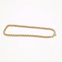 Pulseira Cordão Baiano Em Ouro 18-750- Frete Grátis