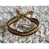 Pulseira Reggae Bob Marley Jamaica De Amarrar