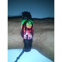 Pulseira Bob Marley Couro