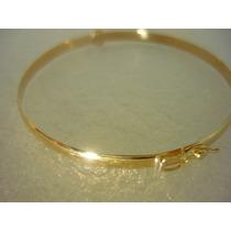 Algema De Ouro Bracelete 18k 8gr