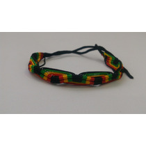 Pulseira Cordão Reggae Tipo Bob Marley