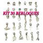 Kit 30 Berloques Pandora Moments Vivara Life