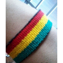Pulseira Reggae/amizade 2cm Largura, Acabamento Perfeito.
