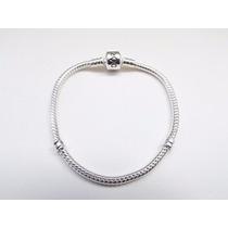 Pulseira Bracelete Pandora 17cm Prata 925