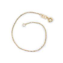 Pulseira Diamantada Fina, 18 Cm Ouro Rommanel 550803