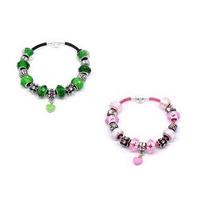 Pulseira Pandora Vivara Prata 925 Couro Completa Com Beads