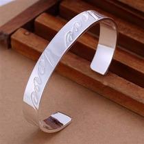 Lindo Bracelete Em Prata 925 Love