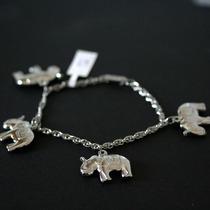 Pulseira De Aço Retorcido Elefante