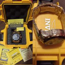 Relógio Invicta Pro Diver 0072 Banhado Ouro 18k - Original