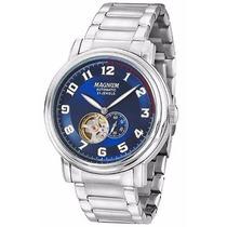 Relógio Magnum Masculino Automático Ma33915f Azul