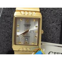 Relógio Citizen Ctz-7087 Luxo Dourado - Dia Dos Namorado