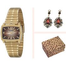 Kit Relógio Mondaine Feminino 83215lpmgde1k