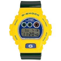 Relógio Masculino G-shock, Digital Casio - Dw-6900brasil-9dr