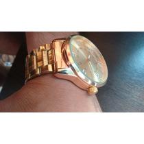 Quiksilver Relógio Todo Dourado