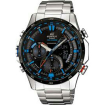 Relógio Casio Edifice Era-300db-1a2v Original Com Manual