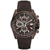 Relógio Guess Ignite Cronógrafo W17540g2 Men´s Brown Novo!!