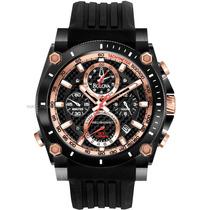 Relógio De Luxo Bulova Precisionist 98b181 Chronograph Anal