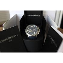 Relógio Emporio Armani Cronógrafo Ar0649 - Novo, Novo, Novo