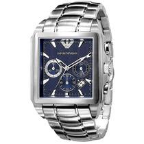 Relógio Emporio Armani Ar0660 Azul Jogador Kaká Frete Gràtis