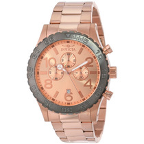 Relógio Invicta 15161 Masculino Specialty Chrono Rose Gold