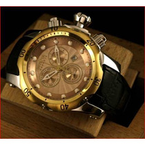 Relógio Invicta 10818 Reserve Venom 18k 1000 Metros Dourado