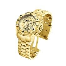 Relógio Invicta Reserve Excursion 6471 Gold Dourado Original