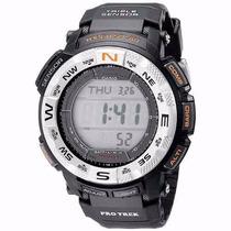 Lindo Relógio Casio Prg-260-2cr Trek Quartz Japonês Digital