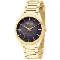 Relógio Feminino Technos Dourado St-moritz 2036lou/4p