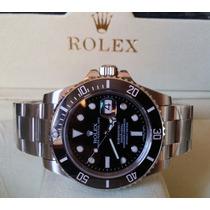 Relógio Eta 2836 Submariner + Caixa, Manual, Garantia, Sedex